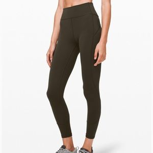 Lululemon In Movement Everlux Olive Green 2